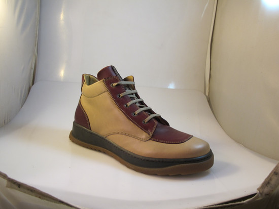 Old Sail Men's A105 Italian Lace-Up High Top Fashion Sneakers