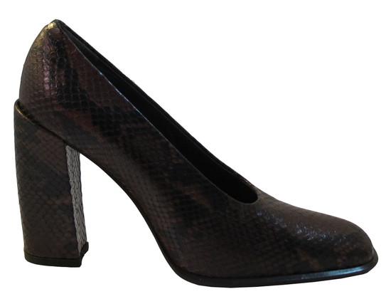Via Spiga Women's Smash Italian Python High Heel Pumps