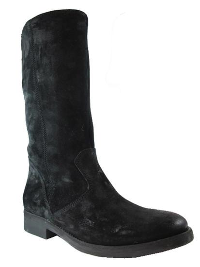 Men's Davinci Brushed Suede Leather 4017 Boots, black or brown