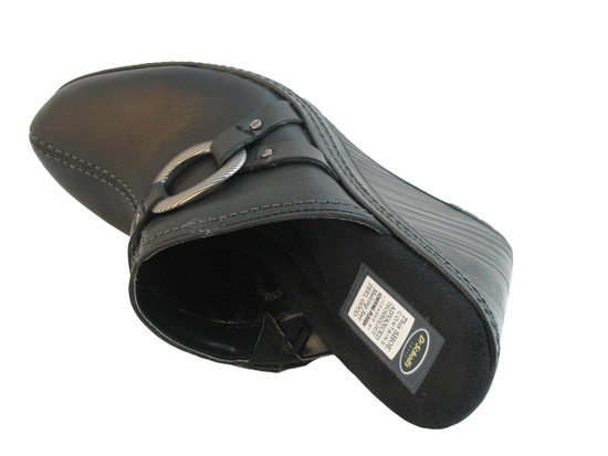 Dr. Scholl's Women's Wedge Mule Burner Black
