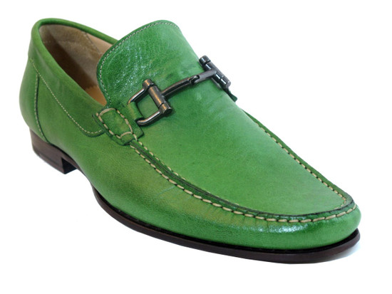 1087 Italian Loafer Green