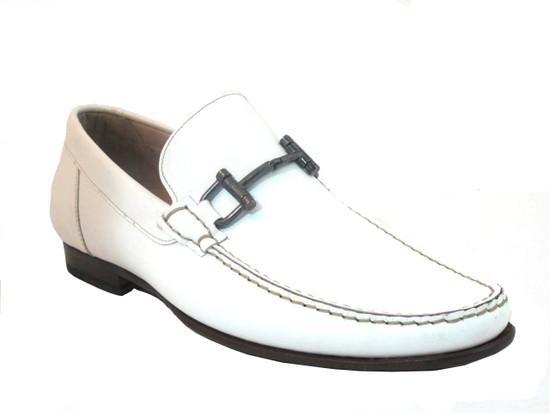 1087 Italian Loafer White