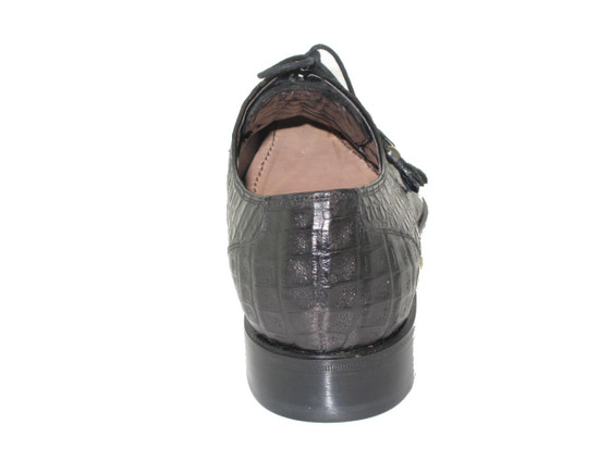 Men's Toscana 6241 Alligator Horn Black