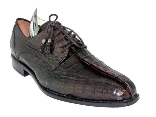 Men's Toscana 6241 Alligator Horn Brown
