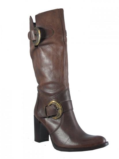 Davinci 7002 Women's Leather  Knee High Italian boots