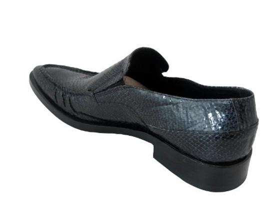 Men's Doucals Itlian Snake Leather Dressy slip on shoes 7011