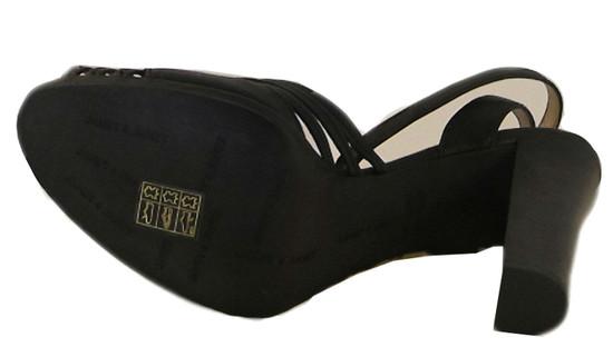 Janet&Janet 7601 Women's Italian Dressy/Casual Mid Heel Sandals