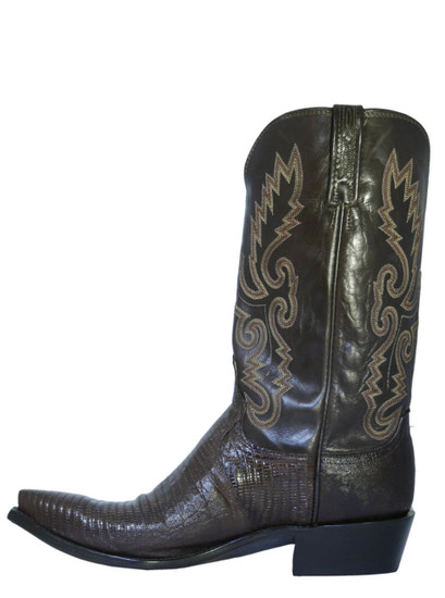 Lucchese Brown Lizard  N8134.54