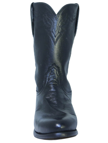 Lucchese T0082 Men's Leather Roper Cowboy Boots