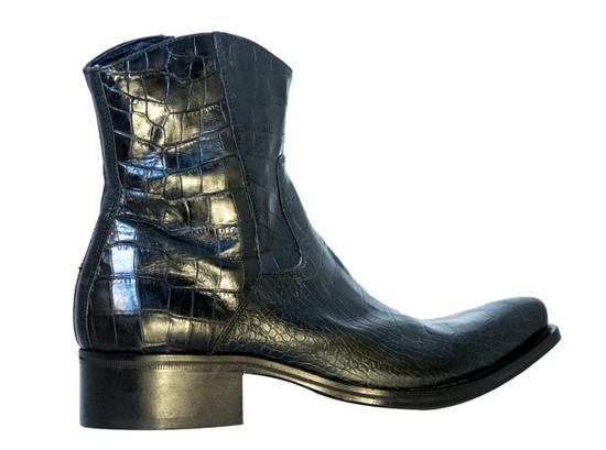 Nex technicol 20504 Men's Italian Alligator Print Leather Boots