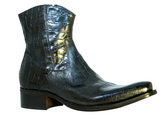 Nex technicol 20504 Men's Italian Alligator Print Leather Boots