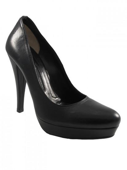 Women's Albano 167, High heel Leather Pump Shoes, Hidden Platform