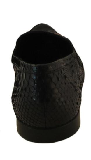 GNV Designer for Davinci Genuine Python slip on shoes