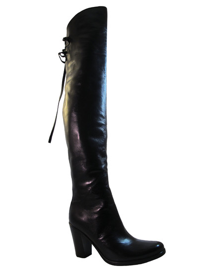 Le Pepe 151164 women's over the knee black boot