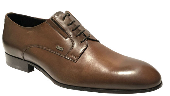 Doucals Men's 2069 Italian Lace Up Oxford Dress Shoes Black or Brown