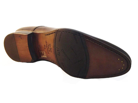 DOUCALS 2069 BROWN LACE UP SHOES
