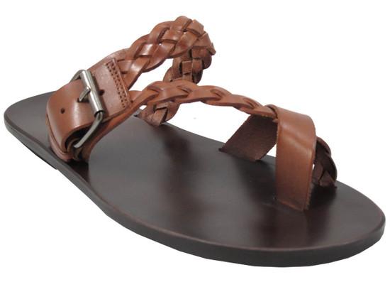 1432 men's sandals tan