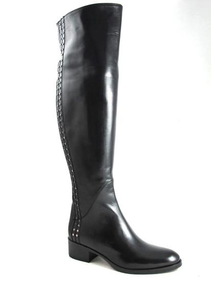 417467  knee high Black Boot
