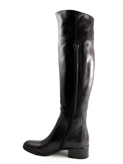417467  knee high Brown Boot