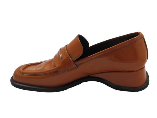 Marco Moreo Women's Italian Square toe Shoe 202 in Bordo,Green,Mustard