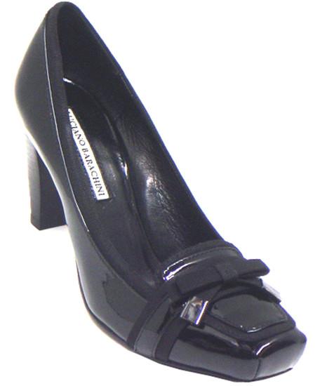 Barachini Women's 12262  Black Patent