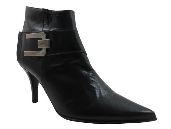 Women's Italian Low Heel Ankle Boot By Designer Oxmox 532