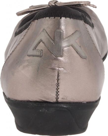 AK Anne Klein Sport Women's Proveit Ballet Flat Pewter/Black