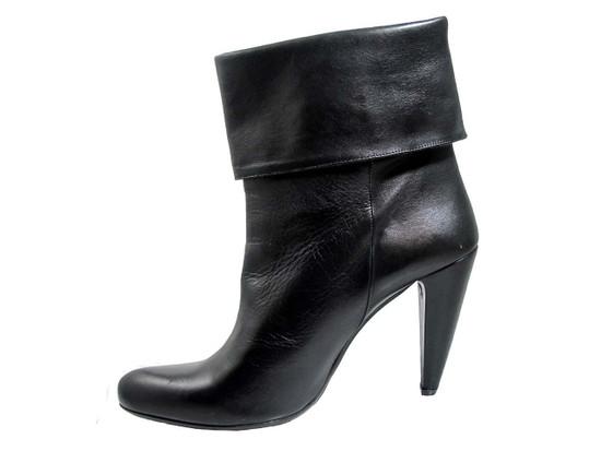 Albano women's italian 829 Bootie, Black