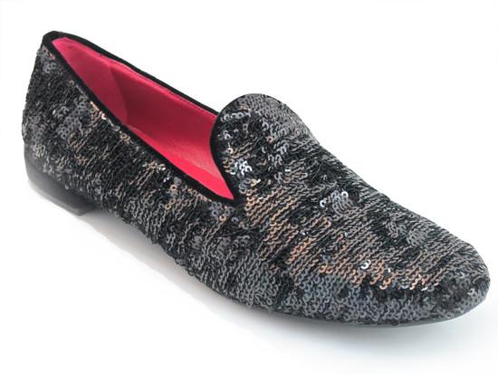 Alberto Gozzi  054 Women's Designer Leather Flat Dressy Shoes