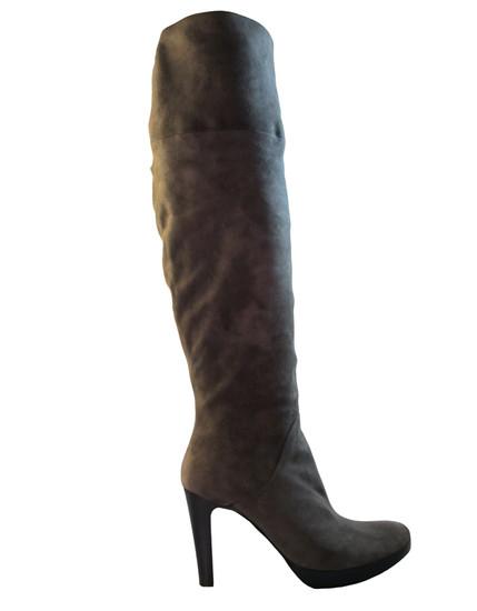 Julie Dee Women's 1018 Grey suede