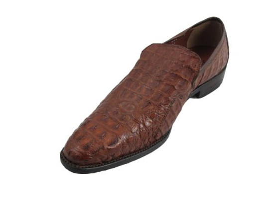 Toscana 6234 Men's Crocodile Slip On Shoes Made In Italy