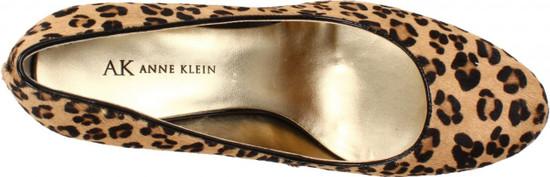 AK Anne Klein Women's Watchit Platform Leopard Print High Heel Sexy Pumps, Fur