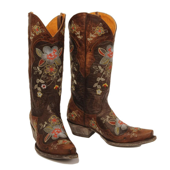 Old Gringo Bonnie L649 Women's floral  Cowboy Boots