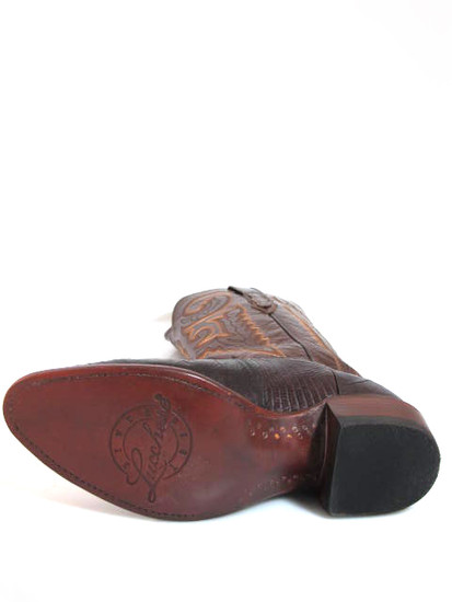 Lucchese T6181.J4 Brown Lizard