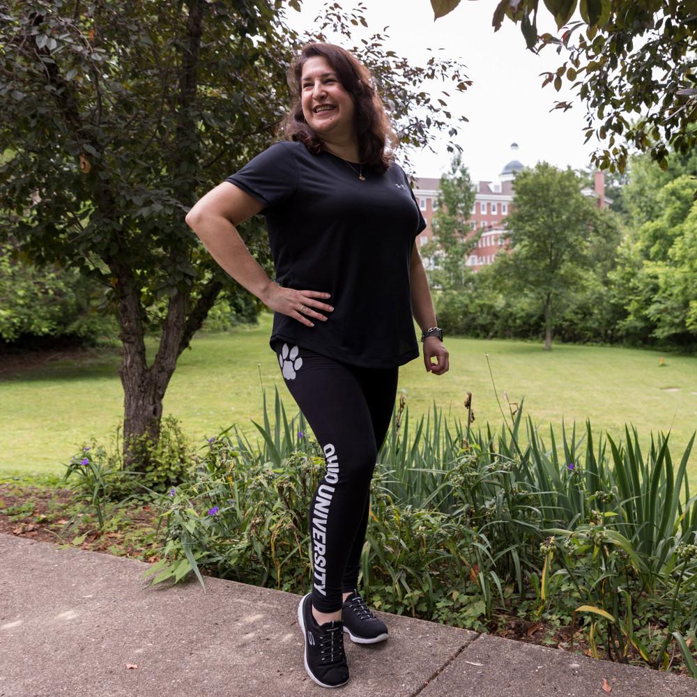 WOMEN'S OHIO UNIVERSITY FULL LENGTH LEGGINGS