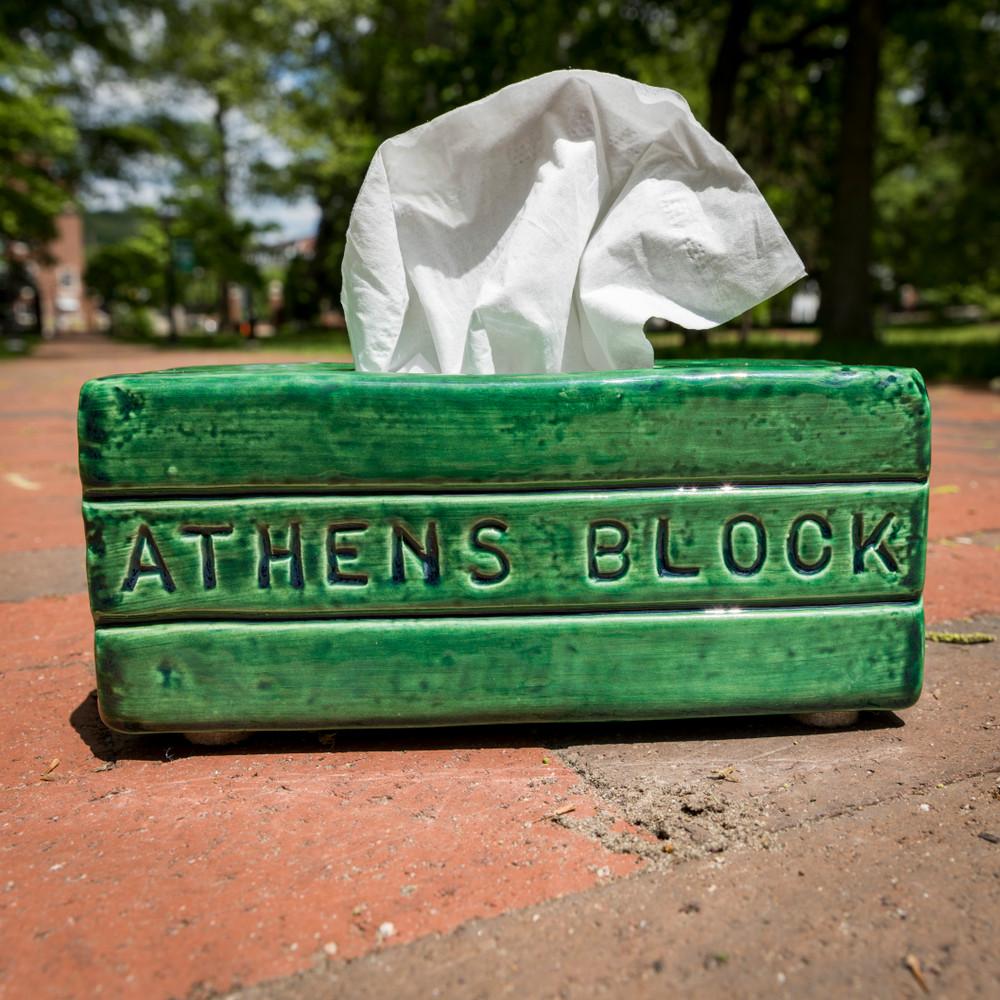 ATHENS BLOCK TISSUE HOLDER