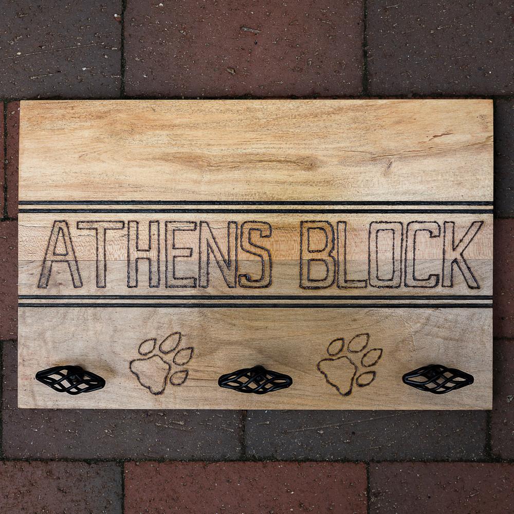 ATHENS BLOCK WALL HANGER