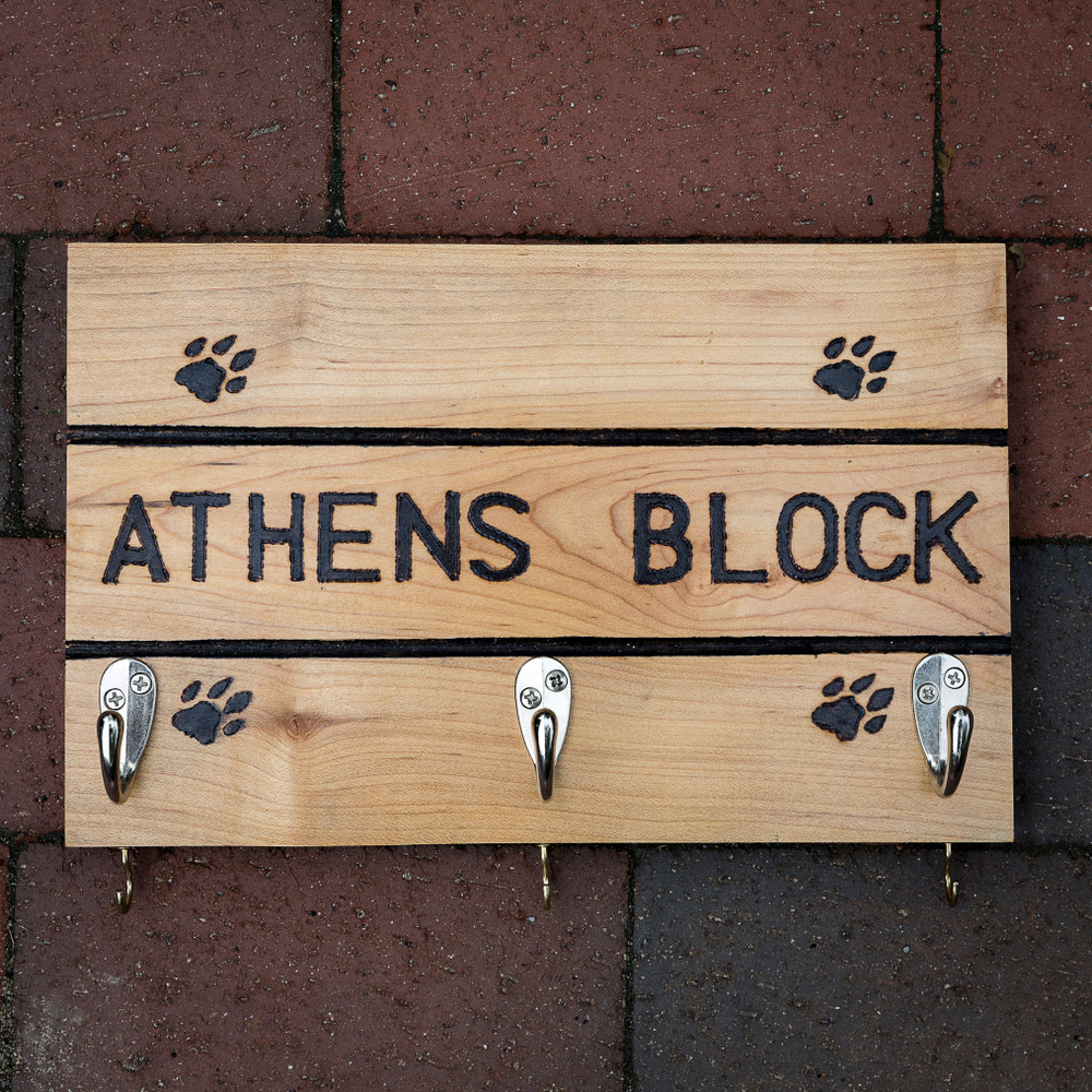 ATHENS BLOCK MEDIUM KEY HOOK