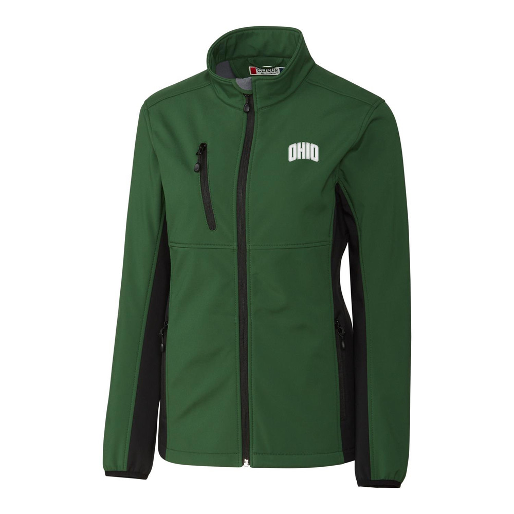 CLIQUE WOMEN'S NARVIK COLORBLOCK SOFTSHELL FULL ZIP