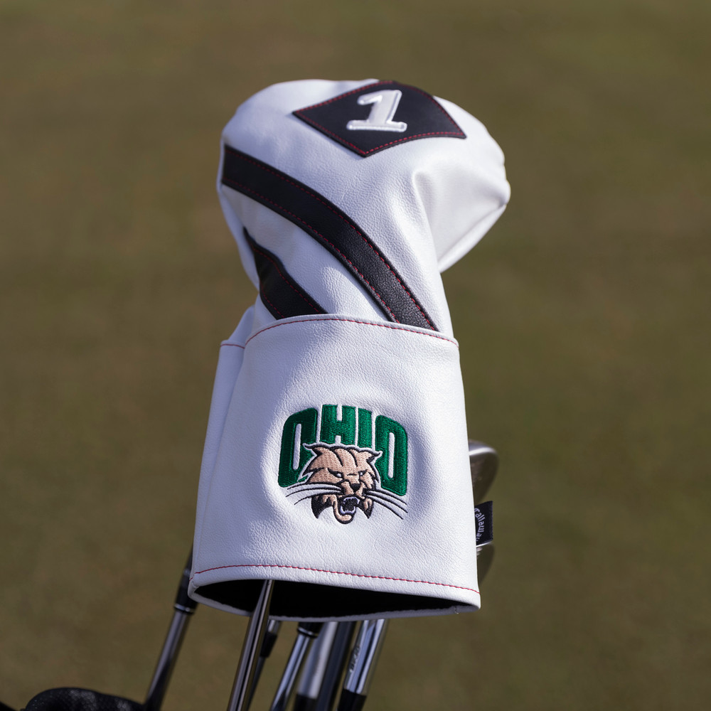 OHIO GOLF CALLAWAY LEATHER DRIVER HEADCOVER