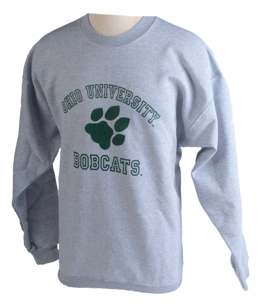 Retro Paw Ohio University Crew Sweatshirt