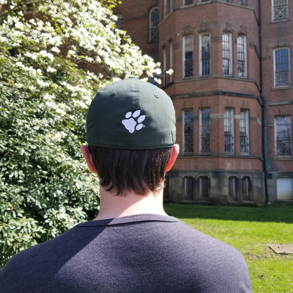 OHIO UNIVERSITY FITTED HAT WITH PAW