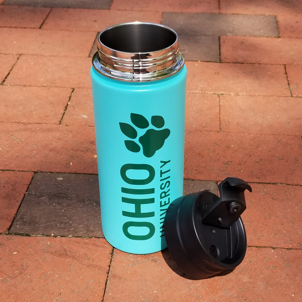 STACKED OHIO UNIVERSITY MINT TUMBLER 16 OZ