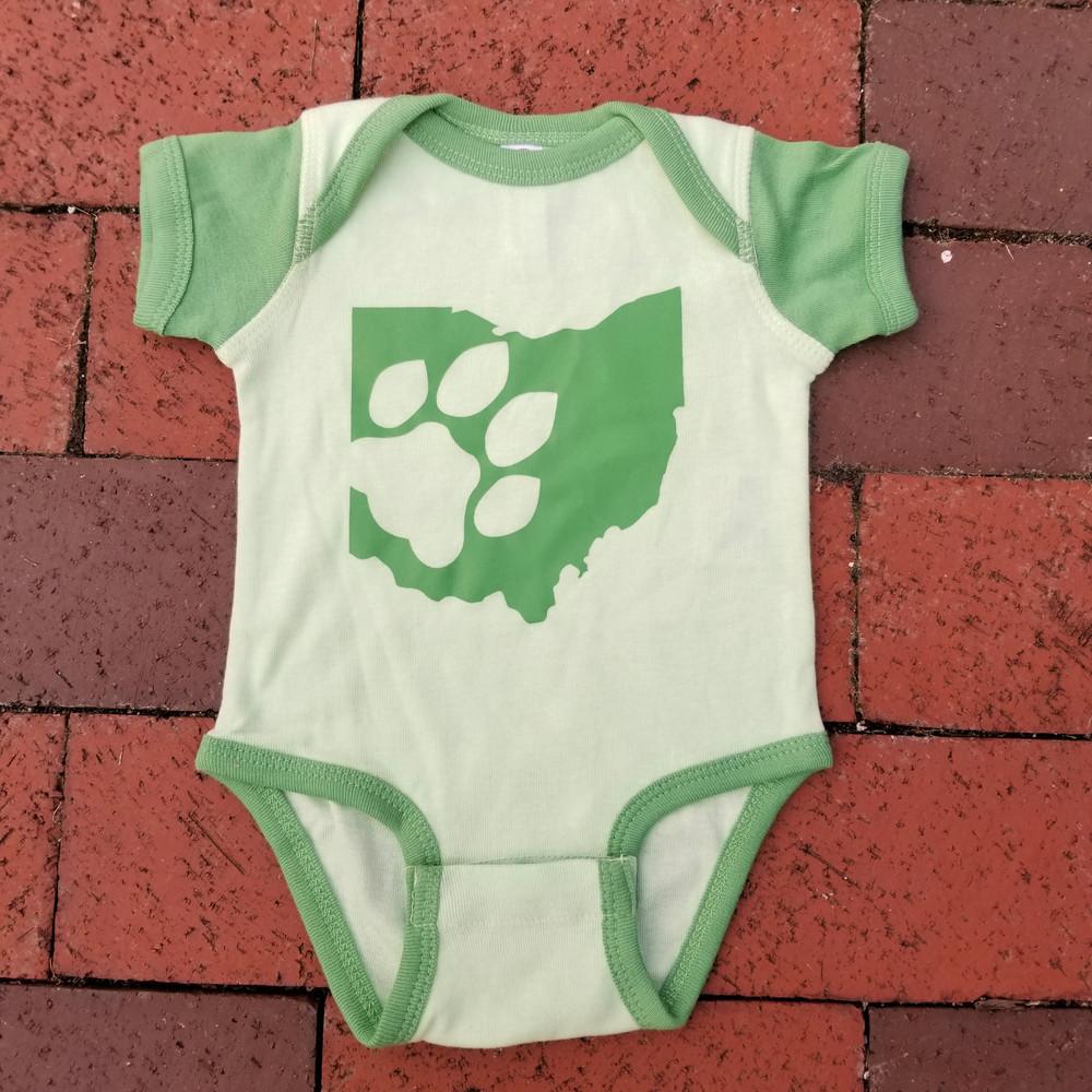 INFANT OHIO PAW STATE BODYSUIT