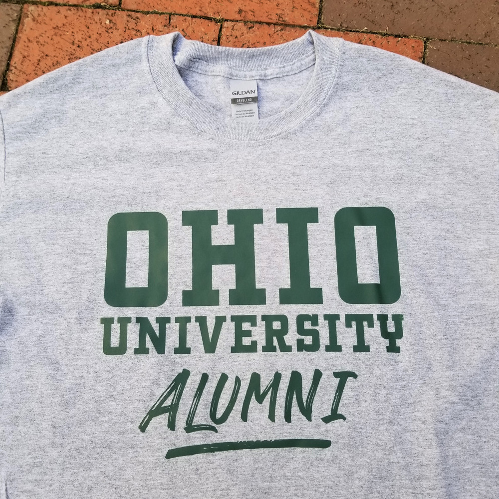 OHIO UNIVERSITY ALUMNI LONG SLEEVE T-SHIRT