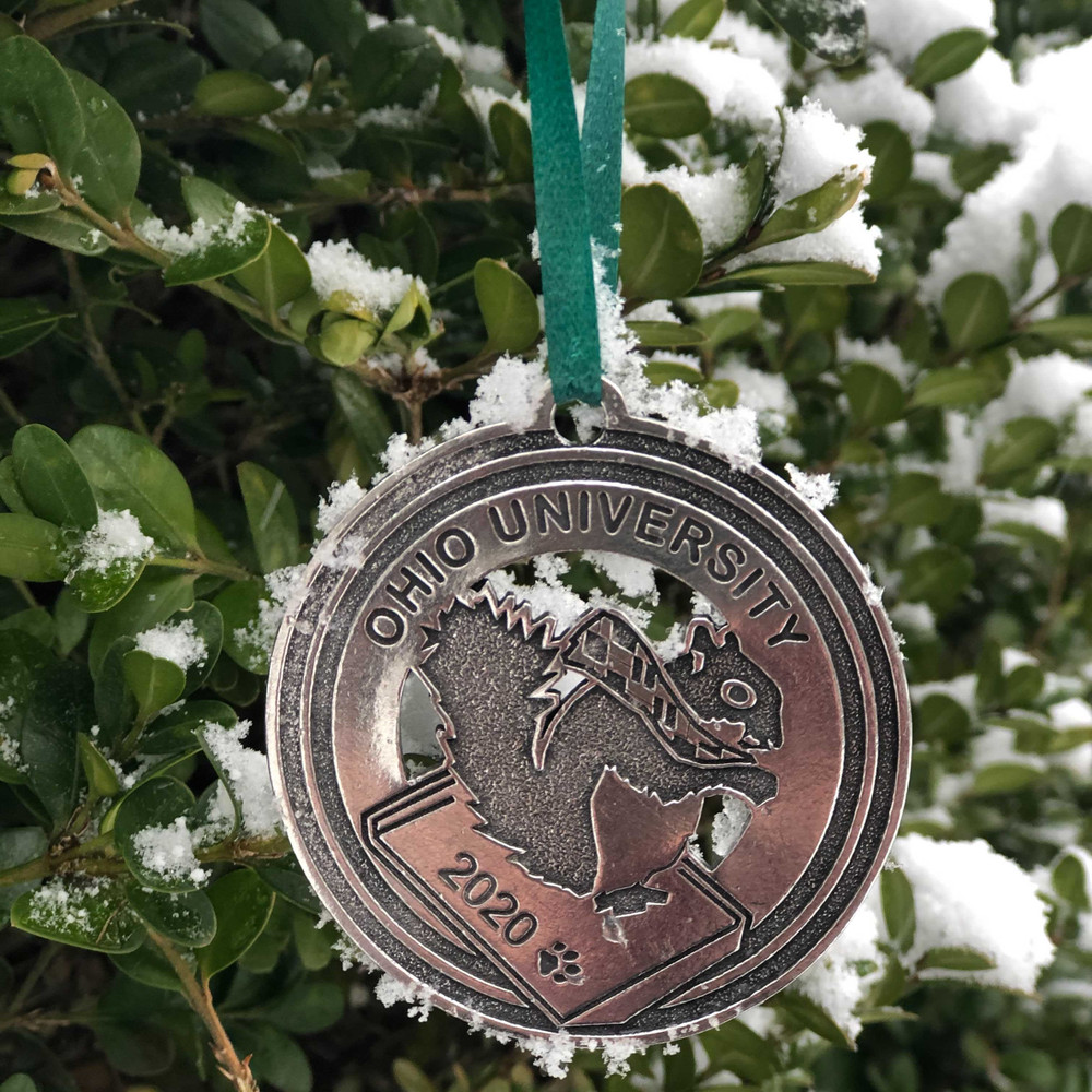 2020 PEWTER HOLIDAY ORNAMENT