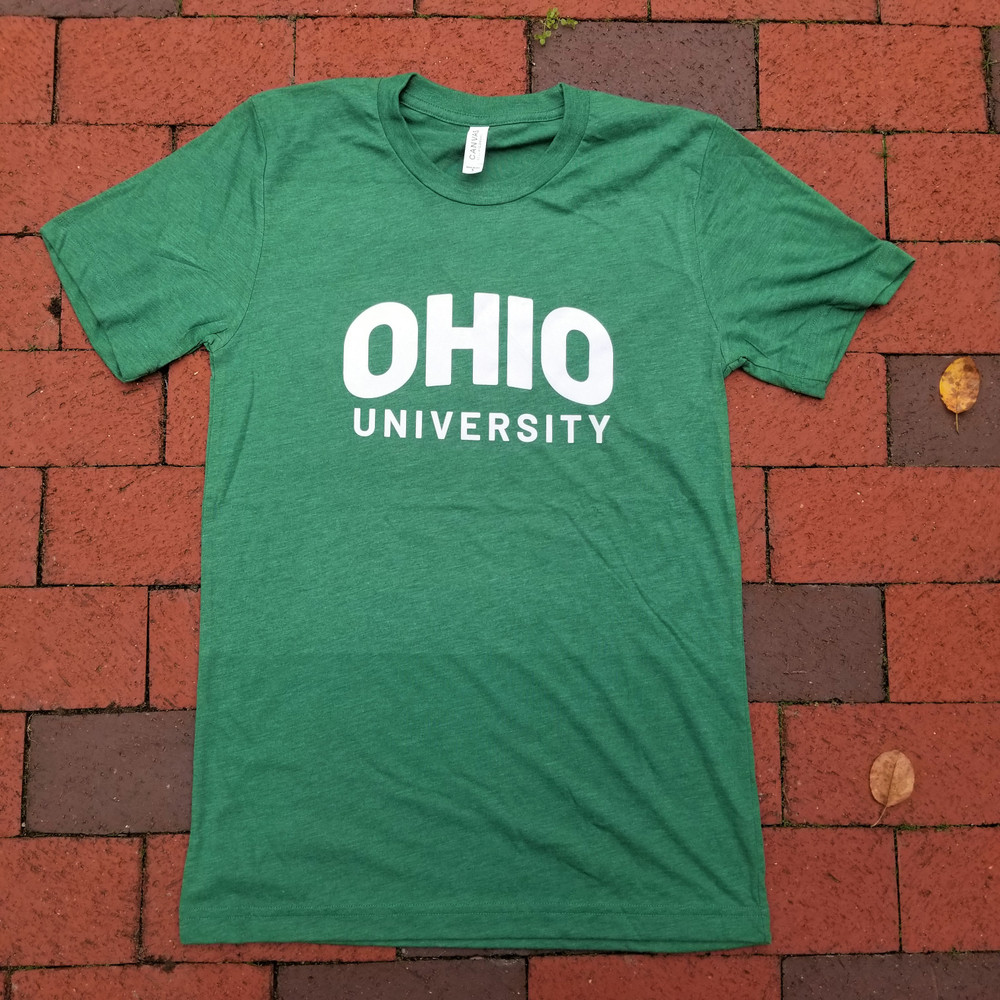 ARCHED OHIO UNIVERSITY T-SHIRT - GRASS GREEN
