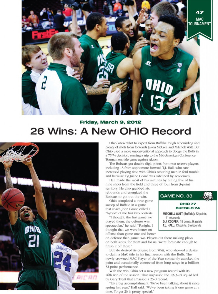 MARCH TO THE ARCH: RELIVING OHIO'S MAGICAL SWEET 16 RUN