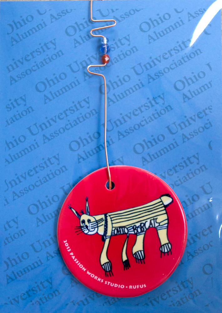 "2013 Passion Works Studio ""Rufus"" Ornament"