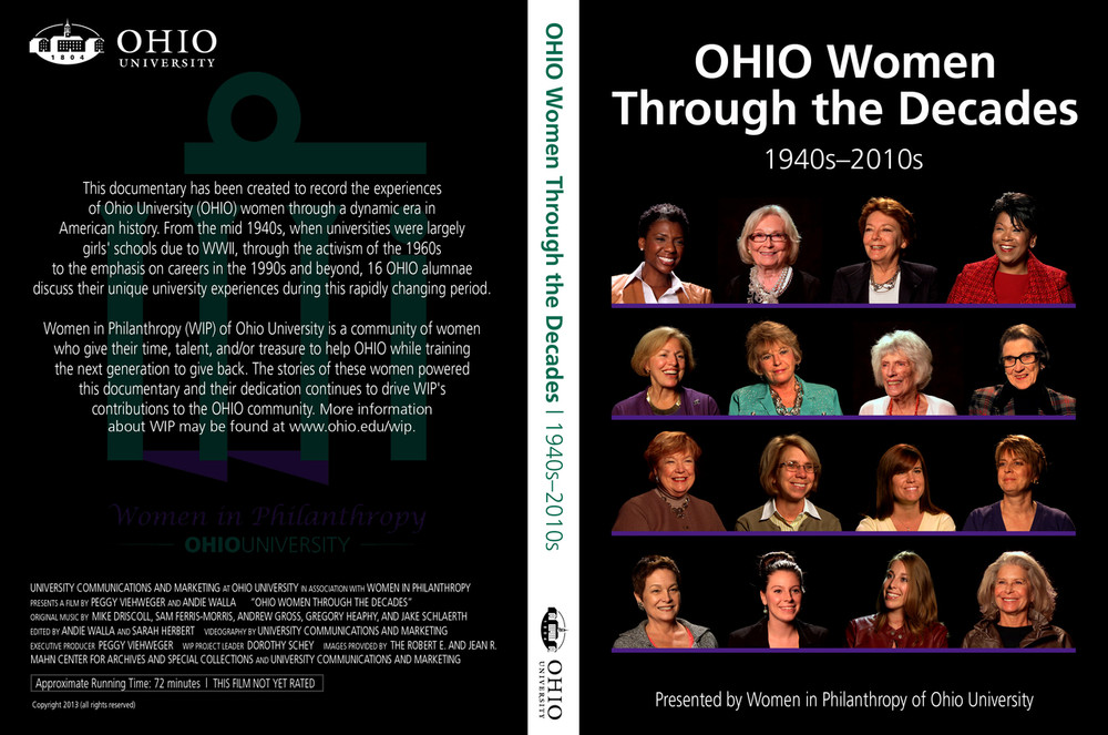 OHIO WOMEN DECADES DOCUMENTARY
